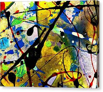 Mixed Media 105 Canvas Print by John  Nolan