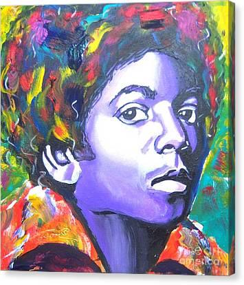 MJ Canvas Print by Jonathan Tyson