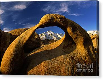 Mobius Arch Canvas Print by Inge Johnsson