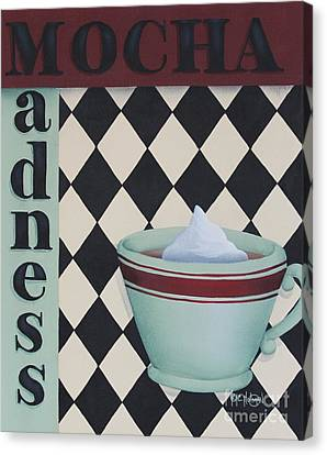 Mocha Madness Canvas Print by Catherine Holman