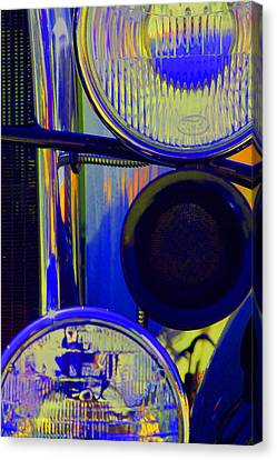 Model A Headlights Canvas Print by Terry Thomas