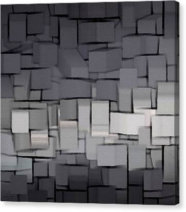 Modern Abstract Art Xx Canvas Print by Lourry Legarde