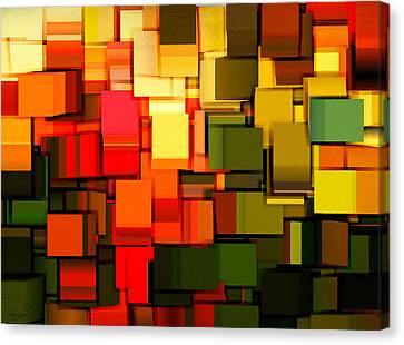 Modern Abstract I Canvas Print by Lourry Legarde