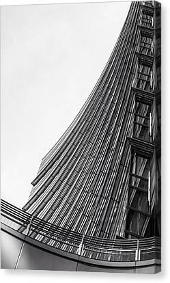 Modern Curves Canvas Print by Alfio Finocchiaro