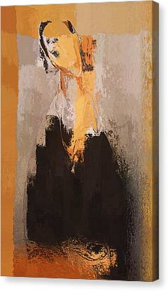 Modern From Classic Art Portrait - 088a Canvas Print by Variance Collections