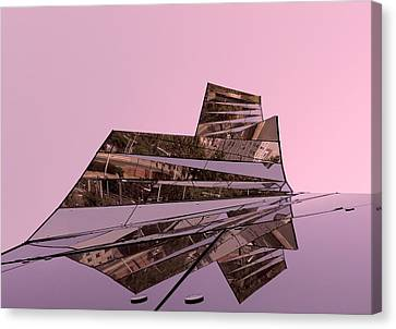 Modern Reflections ... Canvas Print by Juergen Weiss