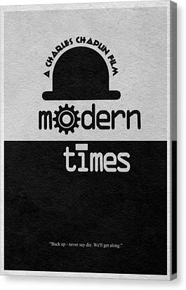 Modern Times Canvas Print by Ayse Deniz