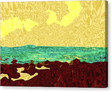 Moku Kapa 9 Canvas Print by Kenneth Grzesik
