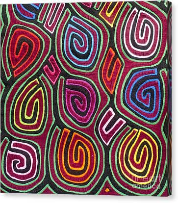 Mola Art Canvas Print by Heiko Koehrer-Wagner