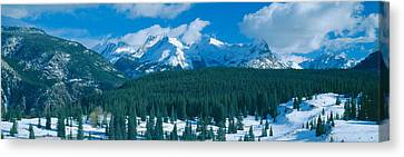 Molas Pass Summit, Million Dollar Canvas Print by Panoramic Images