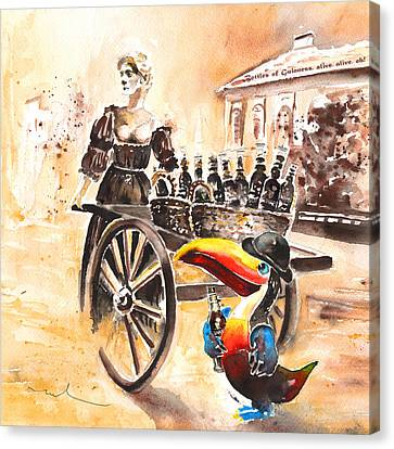 Molly Malone Canvas Print by Miki De Goodaboom