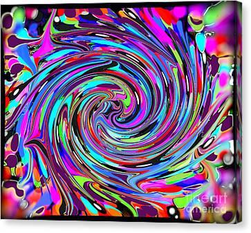 Molten Color Canvas Print by RJ Aguilar