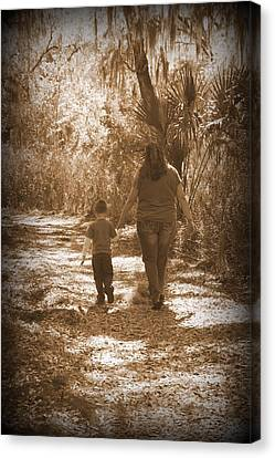Moments Captured Canvas Print by Laurie Perry