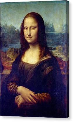 Mona Lisa Canvas Print by Karon Melillo DeVega