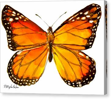 Monarch Butterfly Canvas Print by Patricia Allingham Carlson