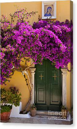 Monastery Door Canvas Print by Brian Jannsen
