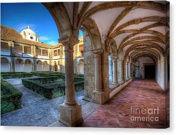 Monastery Of Nossa Senhora Da Assuncao Canvas Print by English Landscapes