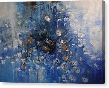 Monet Revisited -revisitando Monet Canvas Print by Hermes Delicio