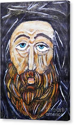 Monk 4 Canvas Print by Sarah Loft