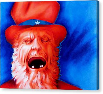 Monkey's Uncle Canvas Print by Robert Martinez
