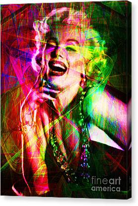 Monroe 20130618so Canvas Print by Wingsdomain Art and Photography