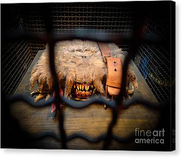 Monster Book Of Monsters By Edwardus Lima Canvas Print by Edward Fielding