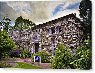 Montague Building At Mars Hill College Canvas Print by Ryan Phillips