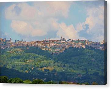 Montalcino Canvas Print by Marilyn Dunlap