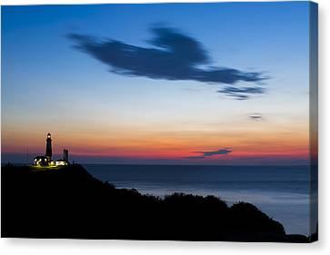 Montauk Lighthouse Sunrise Canvas Print by Ryan Moore