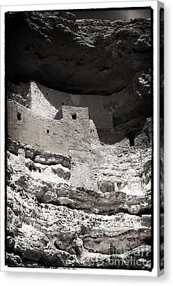 Montezuma Castle National Monument Canvas Print by John Rizzuto