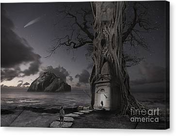 Monument Canvas Print by Keith Kapple