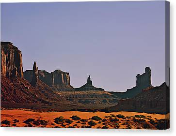 Monument Valley - An Iconic Landmark Canvas Print by Christine Till