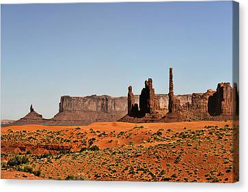 Monument Valley - Icon Of The West Canvas Print by Christine Till