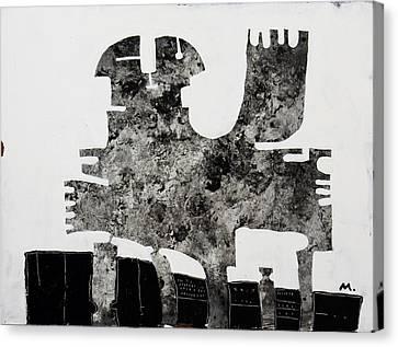 Monumentum No 1 Canvas Print by Mark M  Mellon