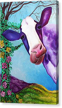MOO Canvas Print by Laura Barbosa