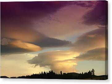 Mood Clouds Canvas Print by Jeff Swan