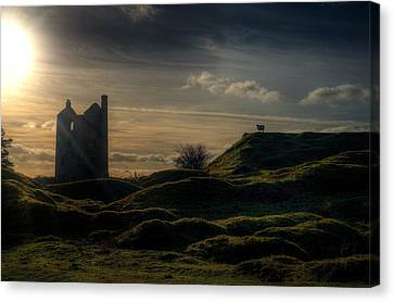 Moody Moor Canvas Print by Christopher Wood