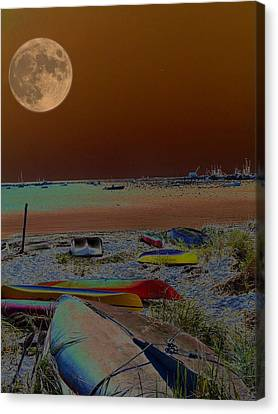 Moon Dreams Canvas Print by Robert McCubbin
