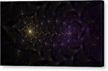 Moon Lit Path Canvas Print by Jhoy E Meade