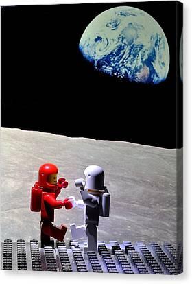 Moondance Canvas Print by Mark Fuller