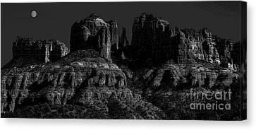Moonlight Cathederal Canvas Print by Jon Burch Photography