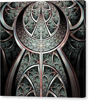 Moonlight Gates Canvas Print by Anastasiya Malakhova