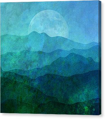Moonlight Hills Canvas Print by Gary Grayson