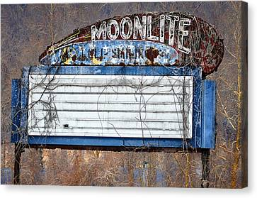Moonlite Canvas Print by Bill Cannon