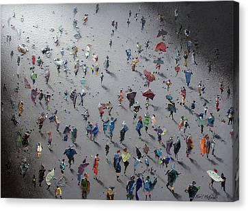 Moonwalk Canvas Print by Neil McBride
