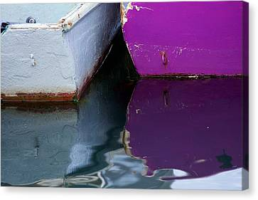 Moored Dinghies Canvas Print by Stuart Litoff