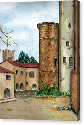 Morcone  Canvas Print by Pamela Allegretto