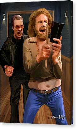 More Cowbell Canvas Print by Brett Hardin
