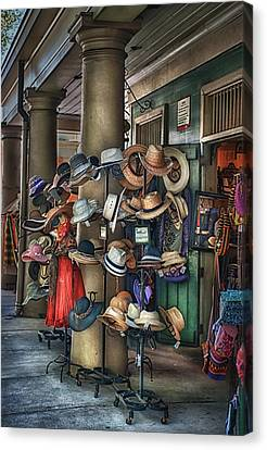 More Hats Inside Canvas Print by Brenda Bryant