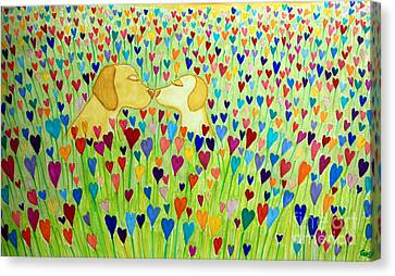 More Puppy Love  Canvas Print by Nick Gustafson